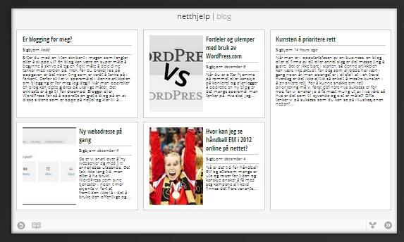 Netthjelp.eu å finne på Google Currents