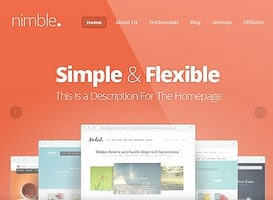 Nimble mobile theme
