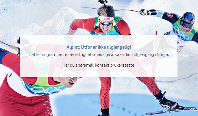 TV2 Sumo utilgjengelig utenfor Norge
