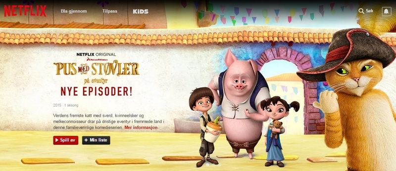 Norsk Netflix i utlandet