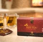 sunn og organisk rød te