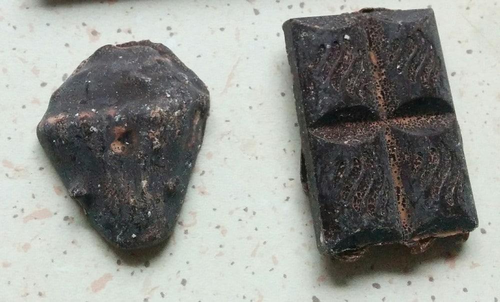 Stygg hjemmelaget sjokolade