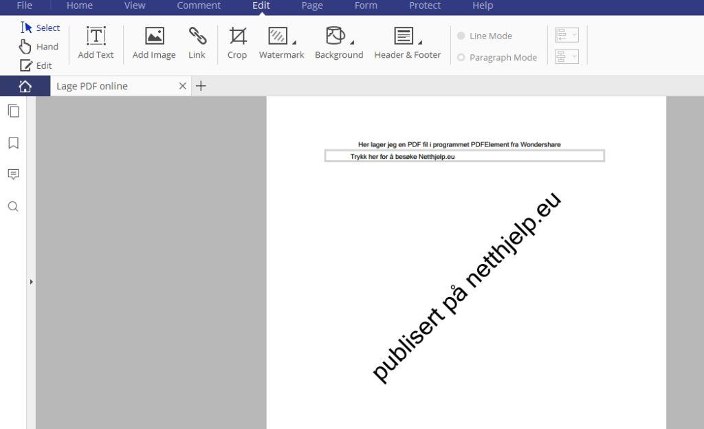 Hvordan konvertere PDF dokumenter til Word, Excel eller lignende? PDFElement gjør jobben!