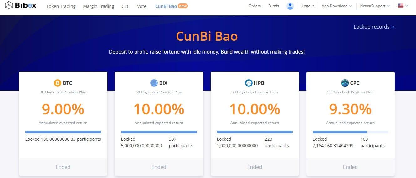 Cunbi Bao på Bibox