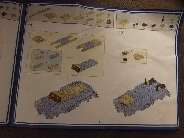 En Lego tanks fra Kina