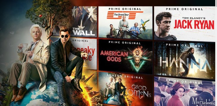 Mange kuler TV serier på Prime Video